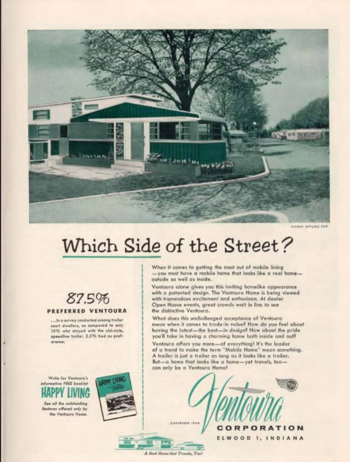 vintage mobile homes-ventoura home
