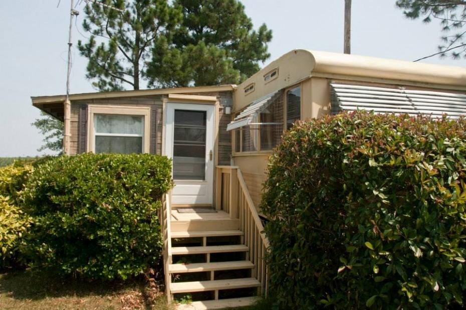 ventoura mobile home before exterior