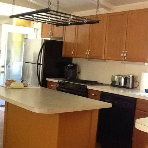 10 Awesome Craigslist Mobile Home Ads from June 2017 - VT double wide kitchen with island
