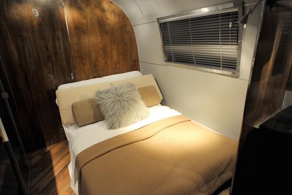 vintage airstream remodel-bedroom