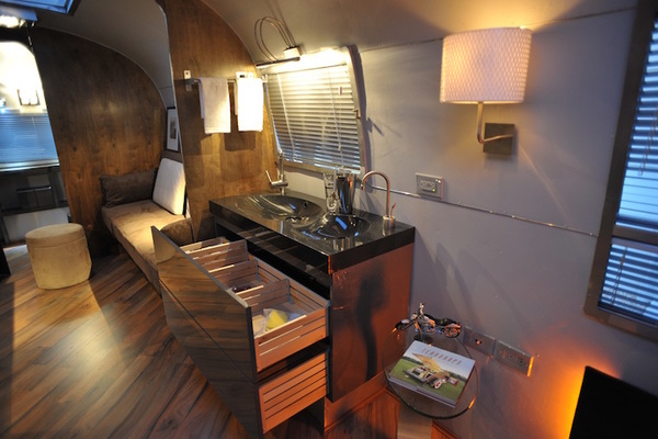 vintage airstream remodel-kitchen