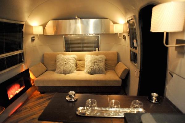 vintage airstream remodel-living room