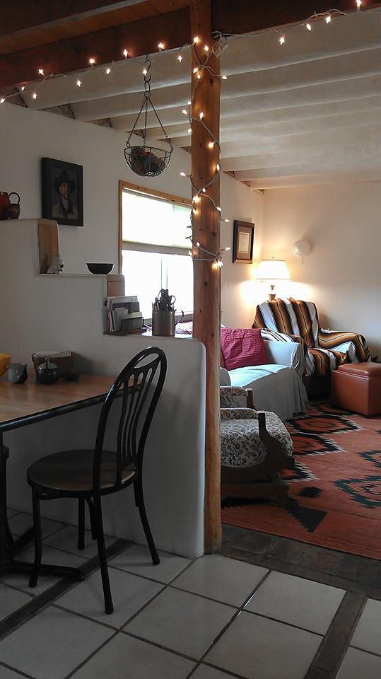 mobile home decor-vintage mobile home remodel in Sante Fe