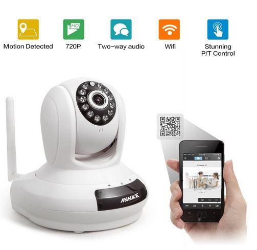 smart home-wi-fi security camera