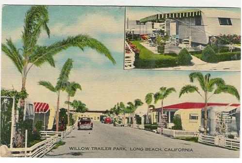 trailer parks-willow trailer park California long beach