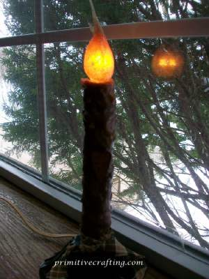 window_light tutorial - primitive country decor and crafts