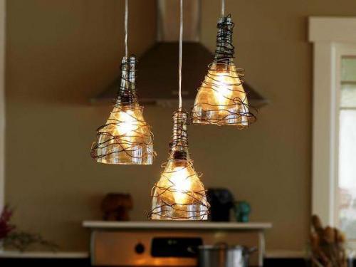 wine-bottle-pendant-lights-kitchen